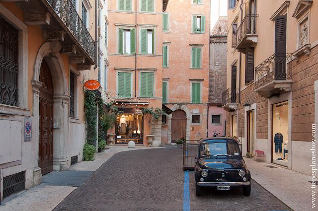 Verona ciudad con encanto norte Italia viaje diario blog