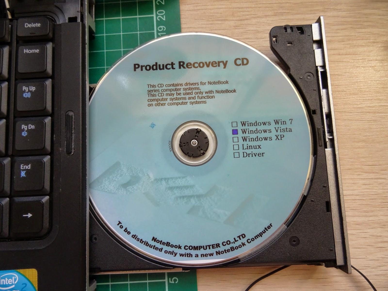 哈囉!你好嗎?: 舊筆電換完硬碟無法開機
