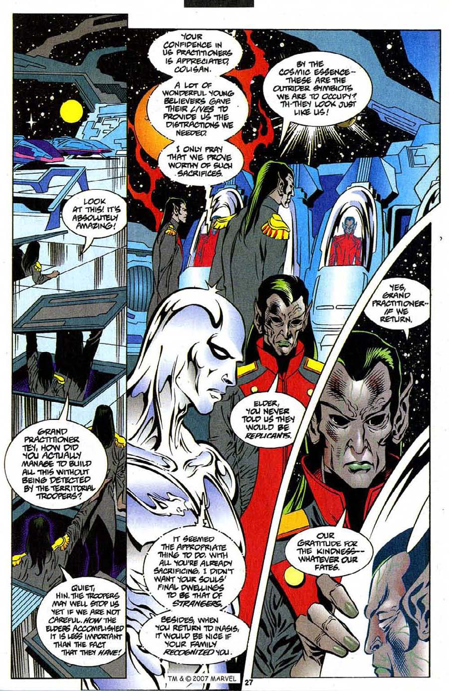 Read online Silver Surfer (1987) comic -  Issue #111 - 29