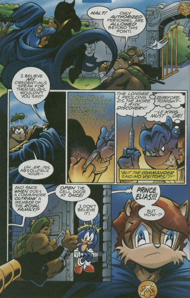 Read online Sonic The Hedgehog comic -  Issue #156 - 10
