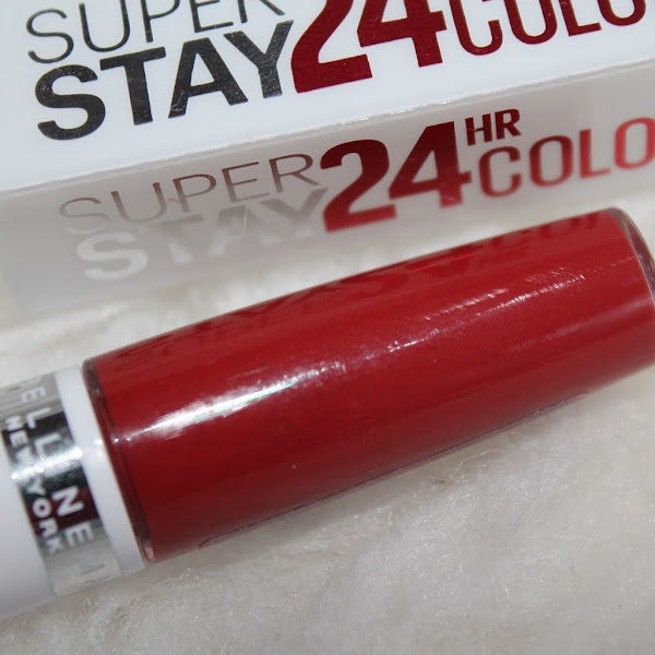 [Review] Maybelline - Super Stay 24h Lippenstift