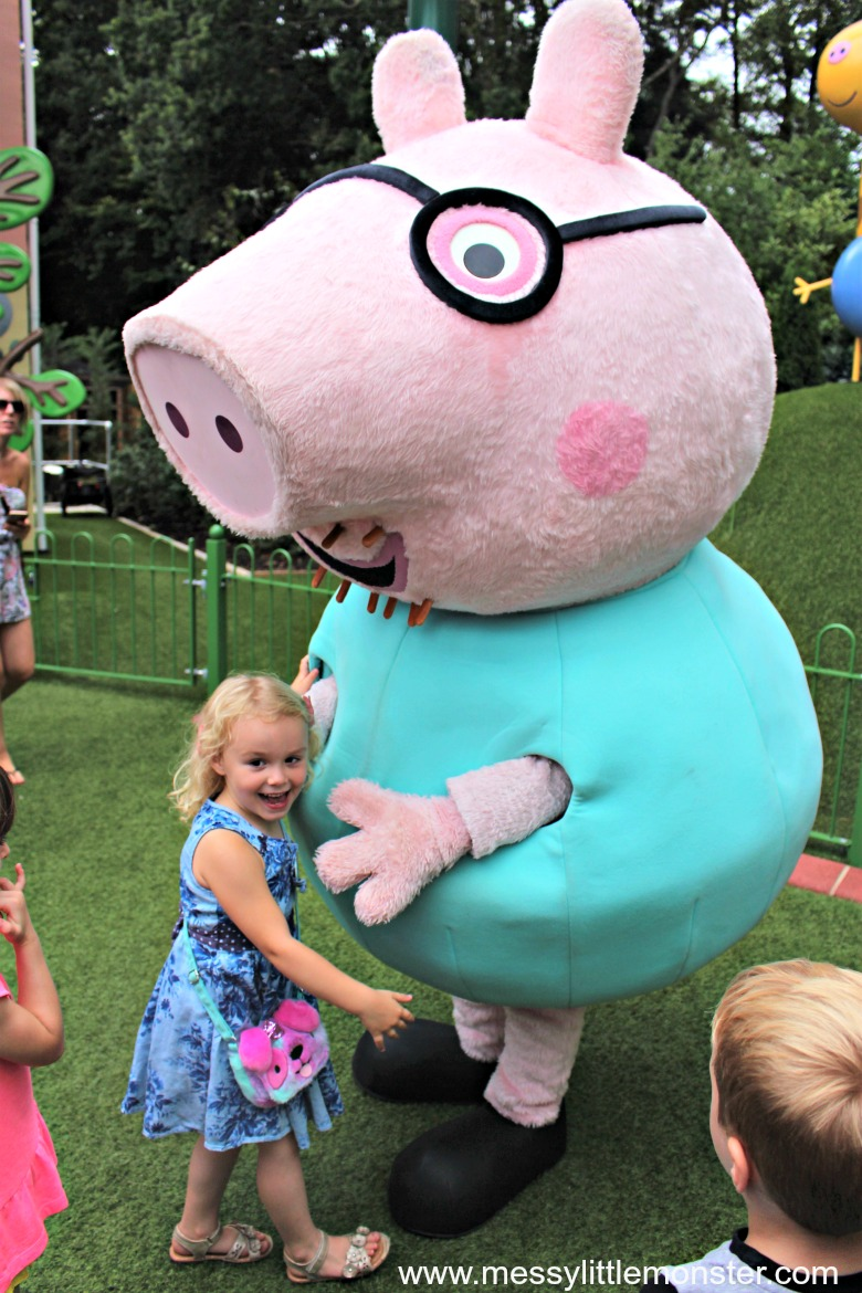 what age is peppa pig world suitable for