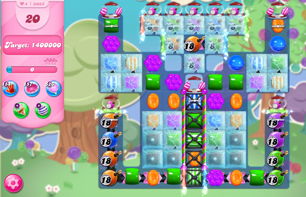 Candy Crush Saga level 6085