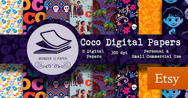 Coco Película - Papeles digitales