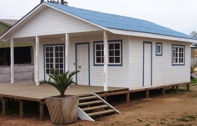 Casas prefabricadas azocar en talca casas prefabricadas for Fotos de casas prefabricadas