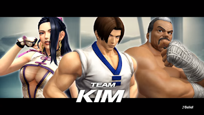 Su The King Of Fighters XIV viene mostrato il Team Kim