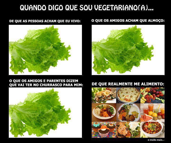 Quando Digo Que Sou Vegetariano(a)...