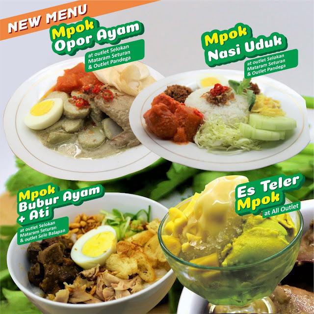 New Menu, Sarapan Pagi Bareng Mpok by Dapur Mpok Duren