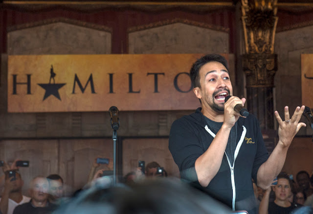 Here's who won $10 'Hamilton' tickets at today's #Ham4Ham event
