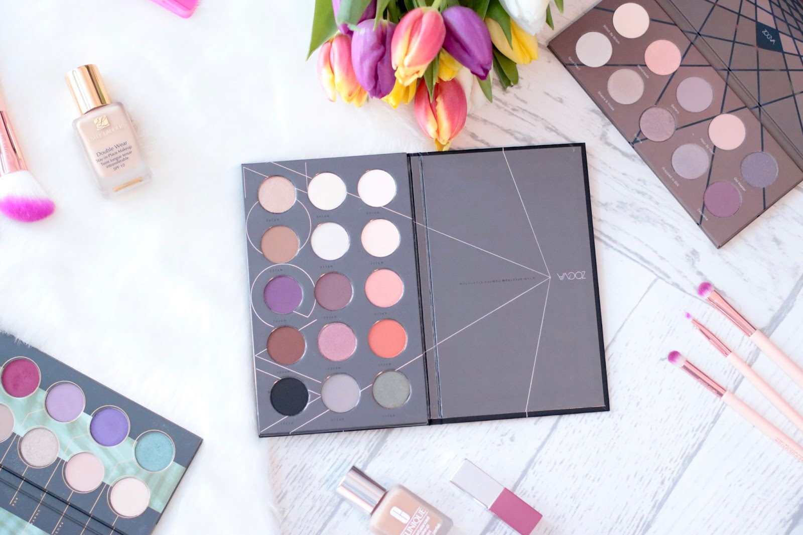 Zoeva Warm Spectrum Eyeshadow Palette - Review & Swatches