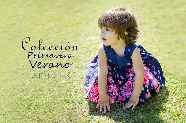Publicidad de Jupiter Pink Ropa de bebés para su colección Primavera-Verano 2017, fotografía de Leticia Martiñena