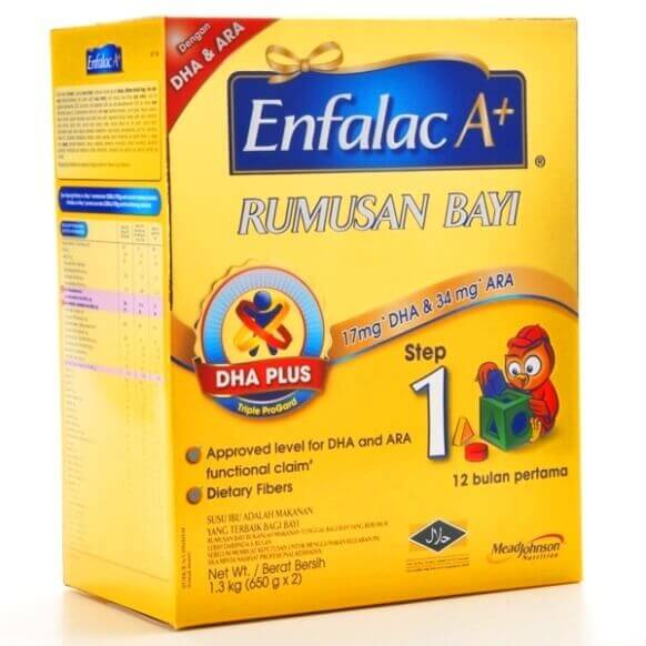 Susu Formula Enfalac A+