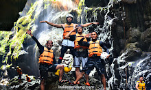 body rafting menuju green canyon