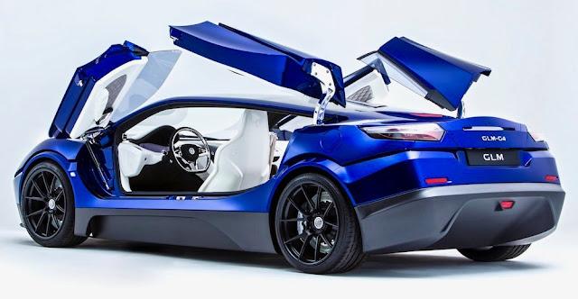 日本初のEVスーパーカー「GLM G4」2019年に市販へ!価格は4000万円で世界展開も計画。