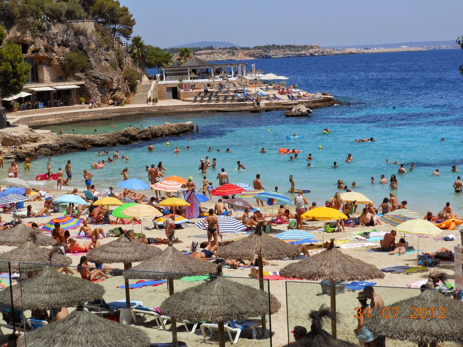 Praia de Illetes - Palma de Maiorca - Espanha
