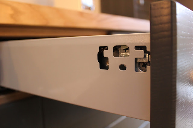 DIY-Kitchens Drawers adjustment