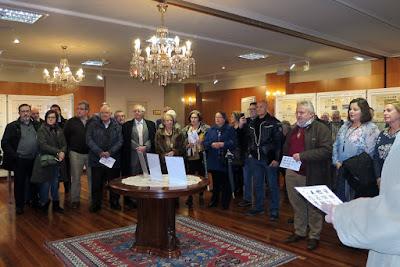 Inauguración exposición filatelia y coleccionismo Centro Asturiano 2017