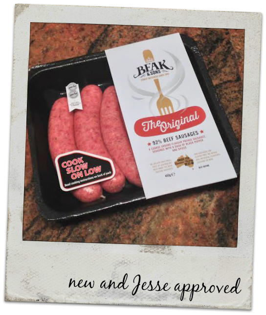Beak and Sons Authentic Butcher Style Sausages