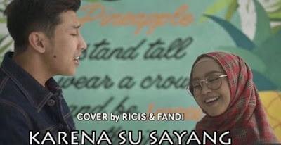 Ria Ricis dan Fandi Cover Lagu Karna Su Sayang Ria Ricis dan Fandi Cover Lagu Karna Su Sayang