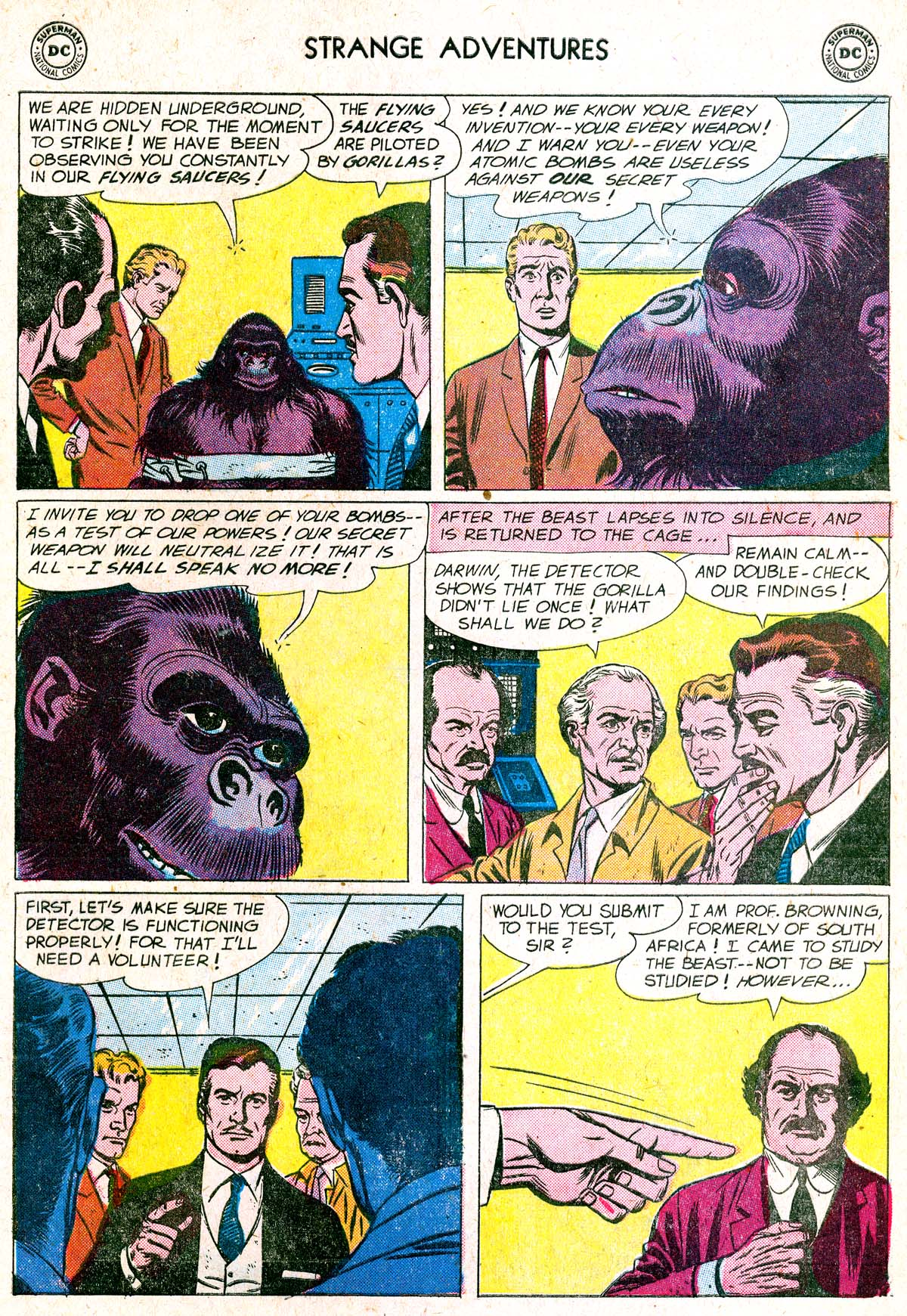 Strange Adventures (1950) issue 88 - Page 5