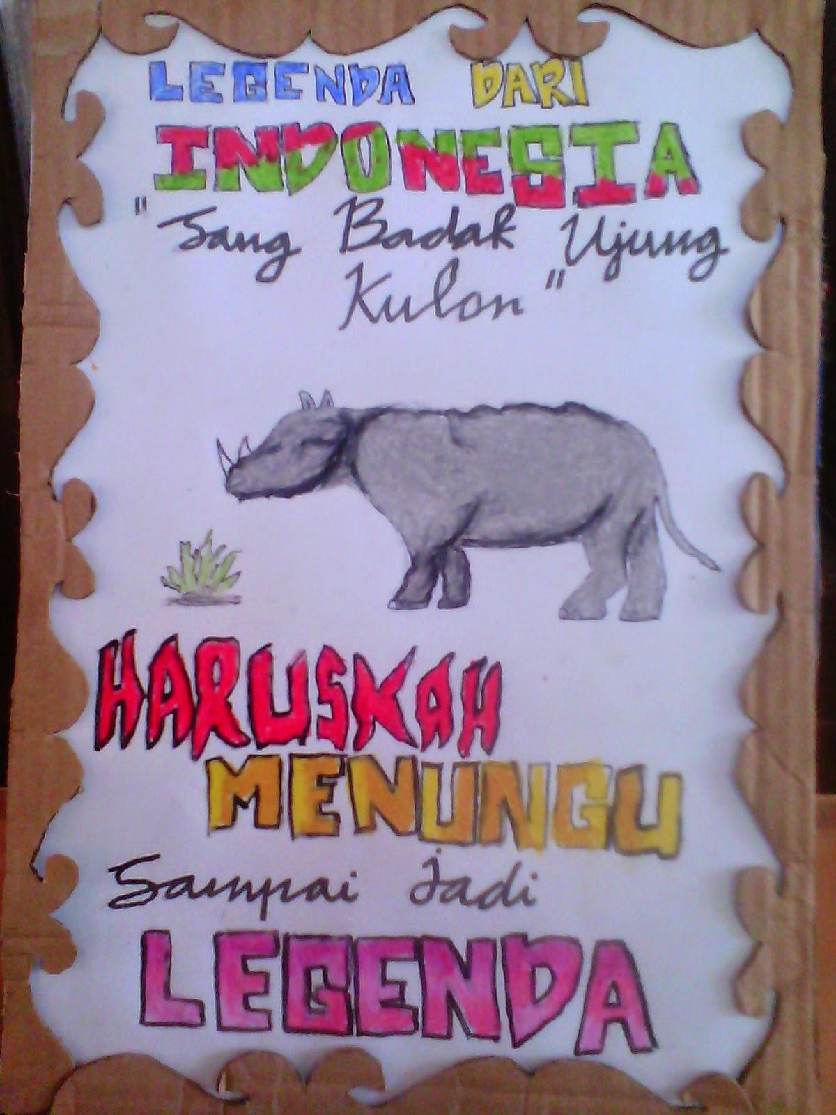 Contoh Poster Poster Bertema Contoh Poster Hewan Langka Di Indonesia