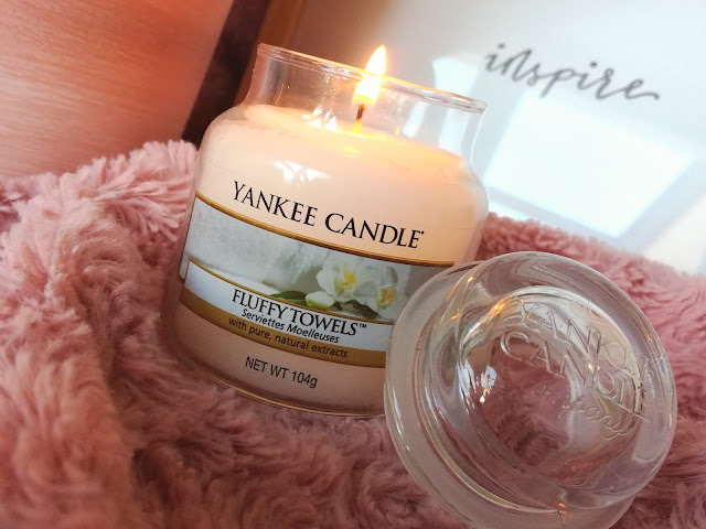 Fluffy Towels de Yankee Candle