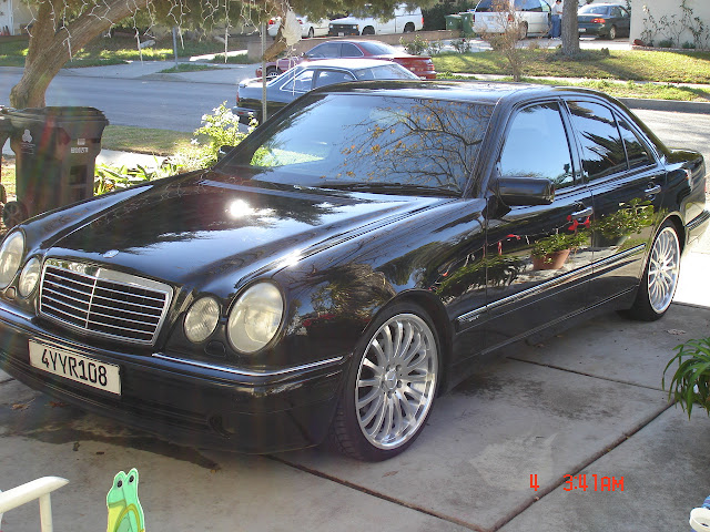 mercedes benz e420 sport w210 on carlsson wheels benztuning. Black Bedroom Furniture Sets. Home Design Ideas