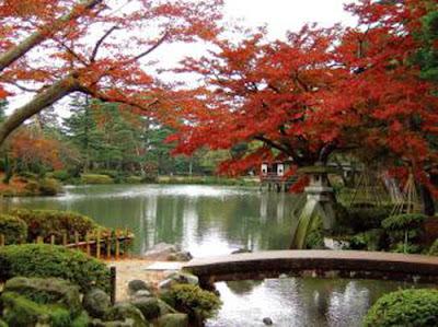 Jardín Kairakuen en Mito, Japón