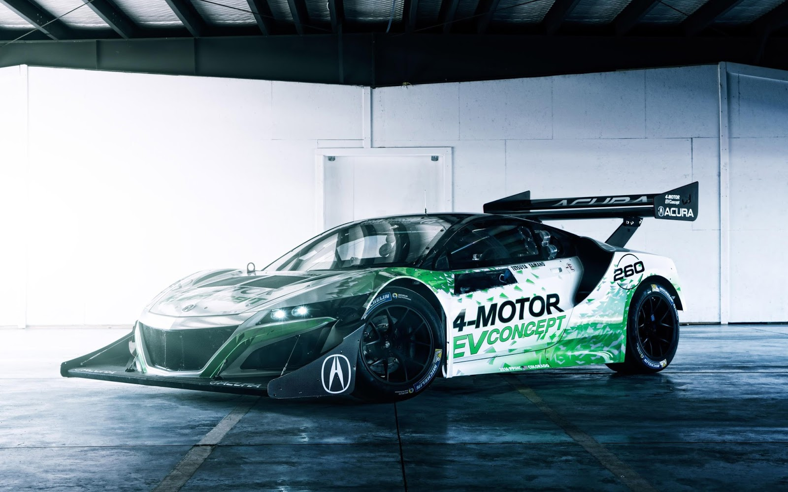 2016 Acura NSX EV Concept