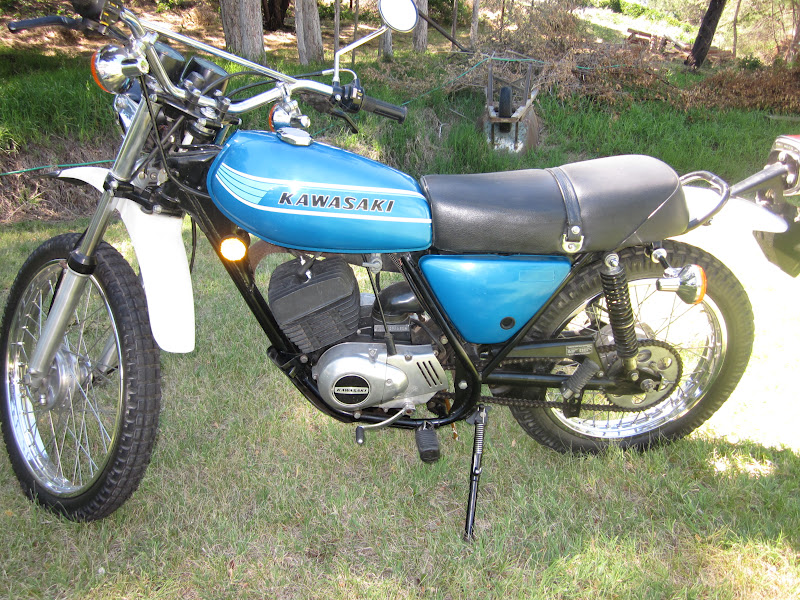 Kawasaki Kemotorcycle For Sale