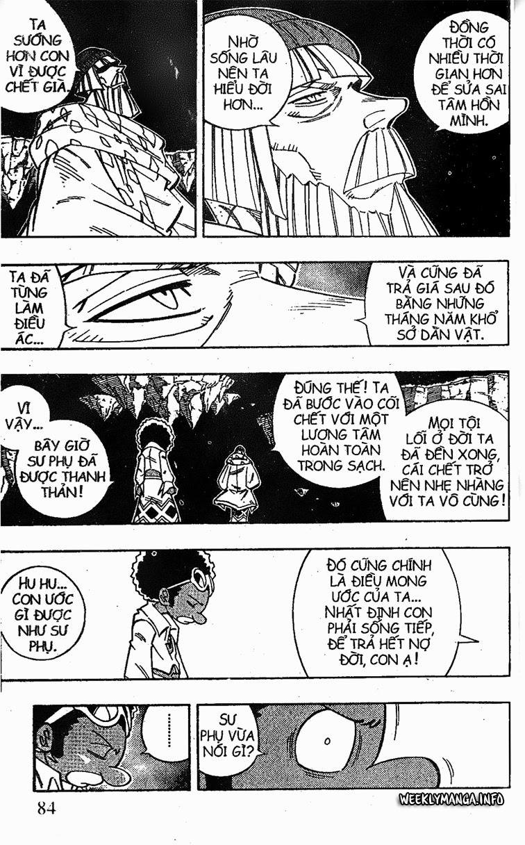 Shaman King [Vua pháp thuật] chap 195 trang 8