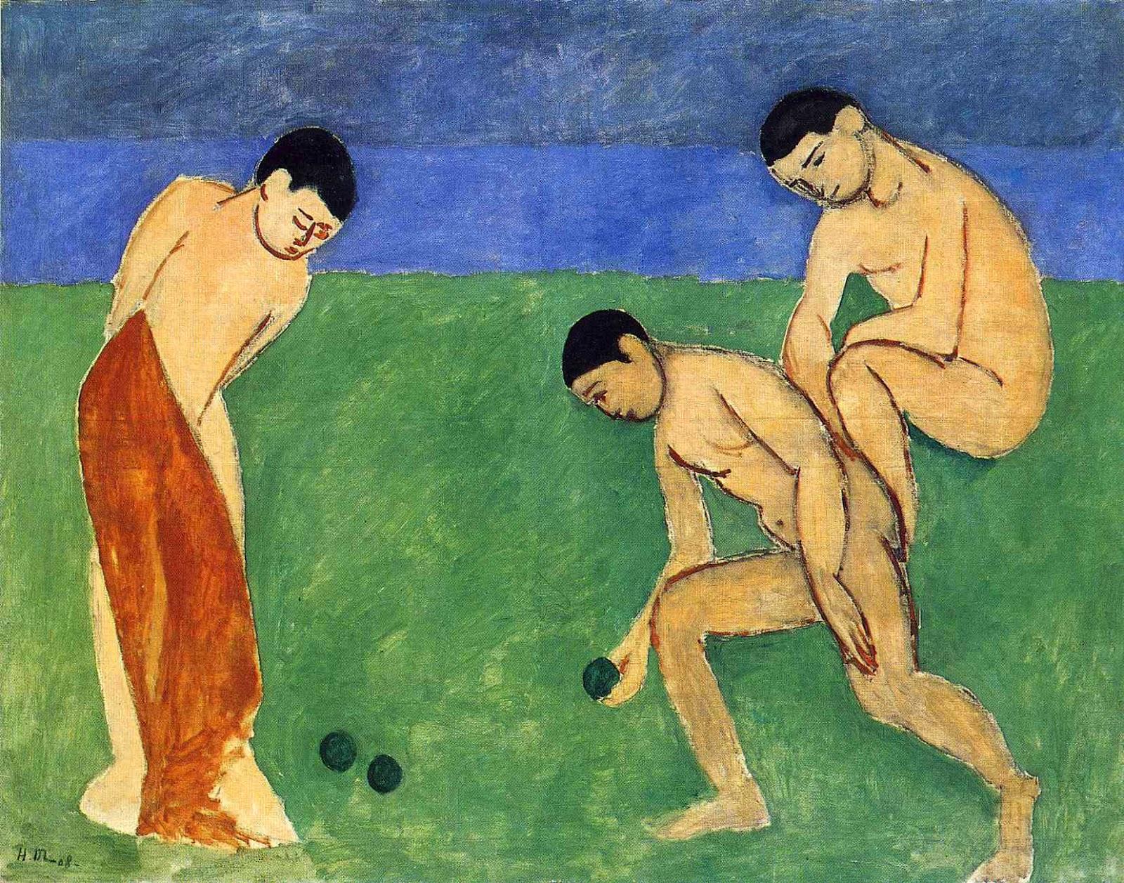 Jogo de Bacias - Pinturas de Matisse, Henri - (Fauvismo) Francês