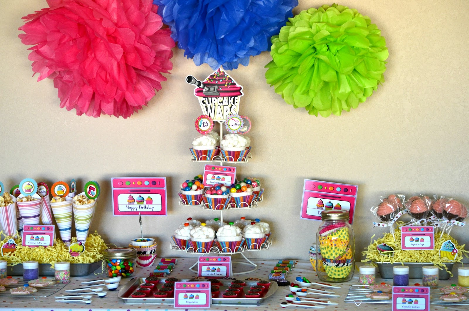 Crissy S Crafts Cupcake Wars Party