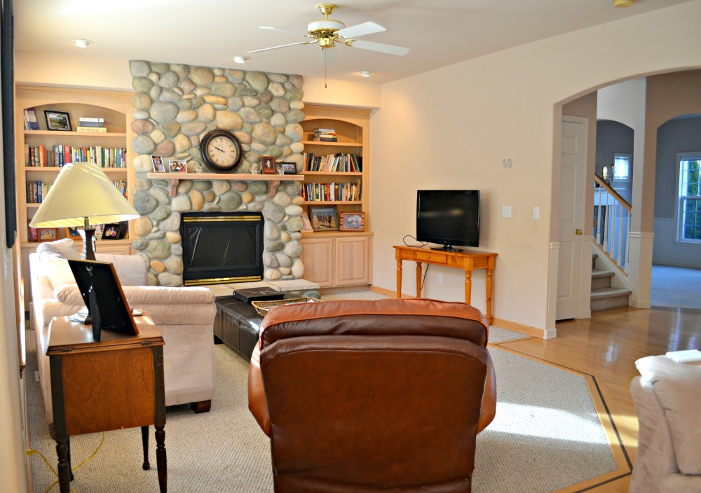 Updating a 90's Living Room in a Model Home - Rachel Teodoro on 90 Room  id=99859
