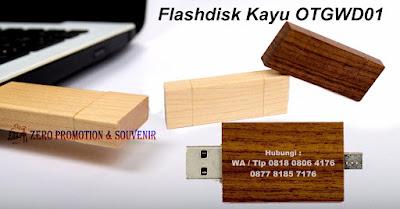 Flashdisk promosi OTG (On The Go), Flash Disk Dual Drive, USB Flashdisk Kayu, USB Flashdisk Wood