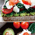 Avocado Toast with Eggs, Spinach, and Tomatoes Healthy Recipe