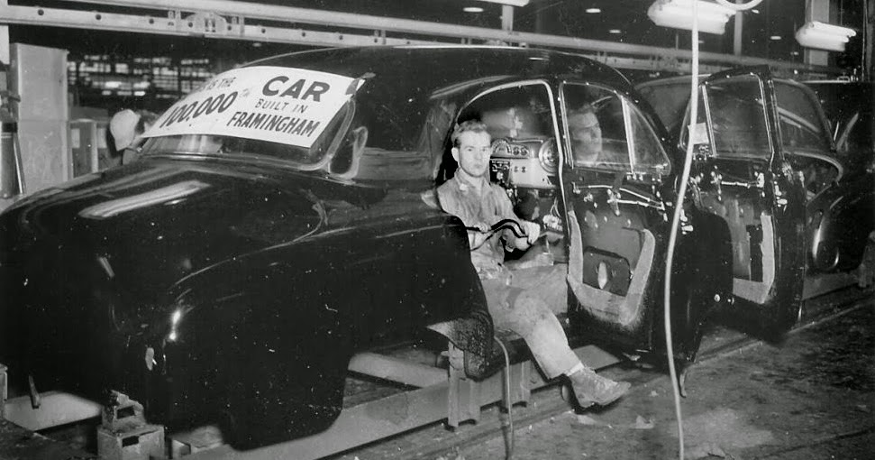 Framingham Matters A Bit Of Southside History General Motors Assembly 1947 1983