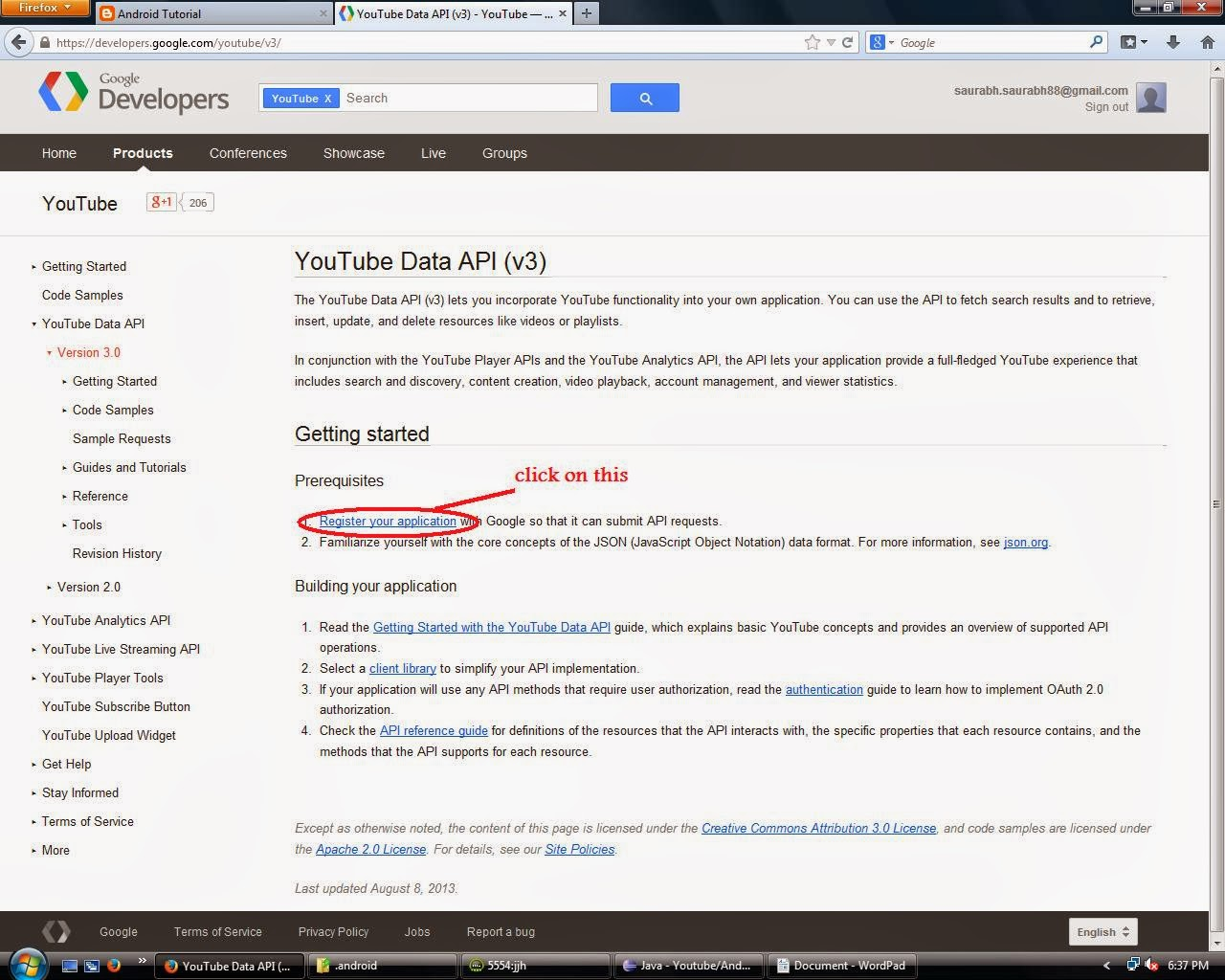 Android Tutorial: How to download the playlist from youtube