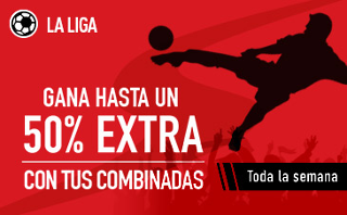 sportium extra en Combinadas Liga 18-24 septiembre