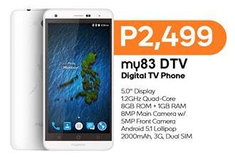 MyPhone My83 DTV