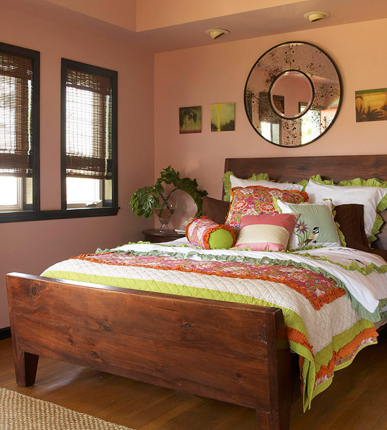 Red Pink Bedroom Ideas