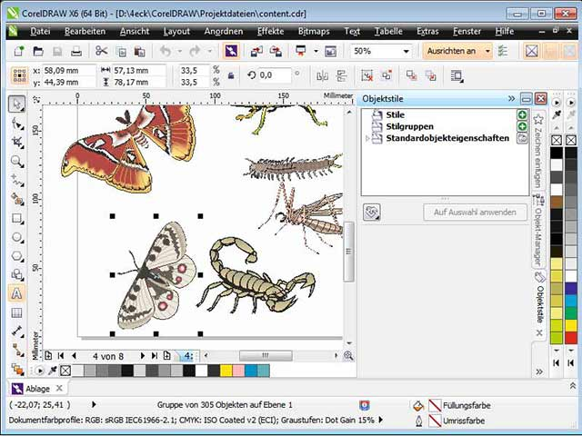 corel draw x6 portable kickass