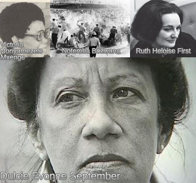 Women Assassinated and Executed in South Africa 1963-1985