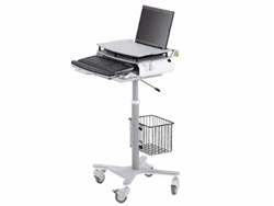 Symmetry Office Align Sit To Stand Laptop Cart