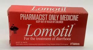 لوموتيل Lomotil لعلاج الأسهال