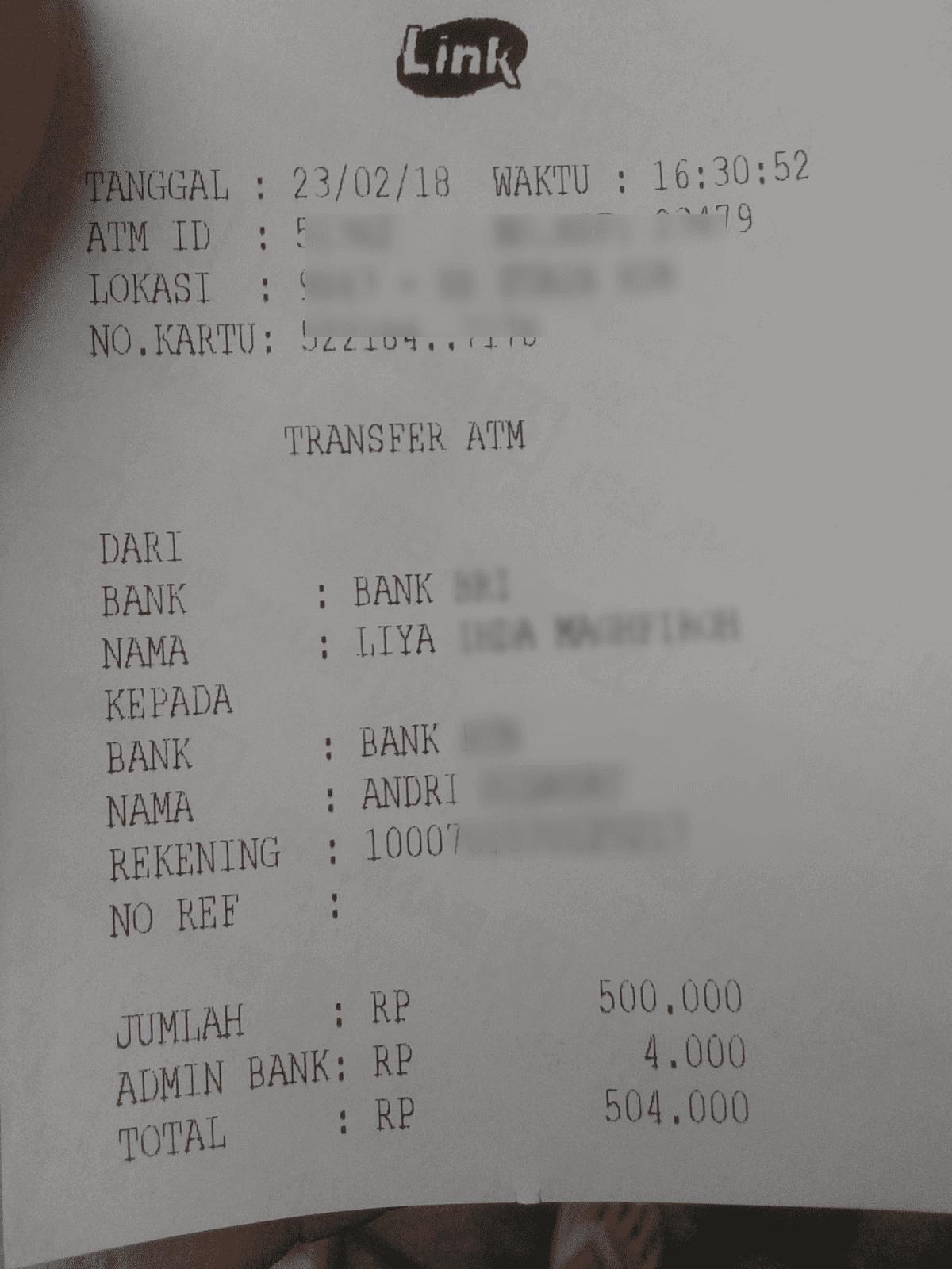 Qiagames Pertama Kali Cara Transfer Bri Ke Bca Berserta Kode Bank Biaya Admin