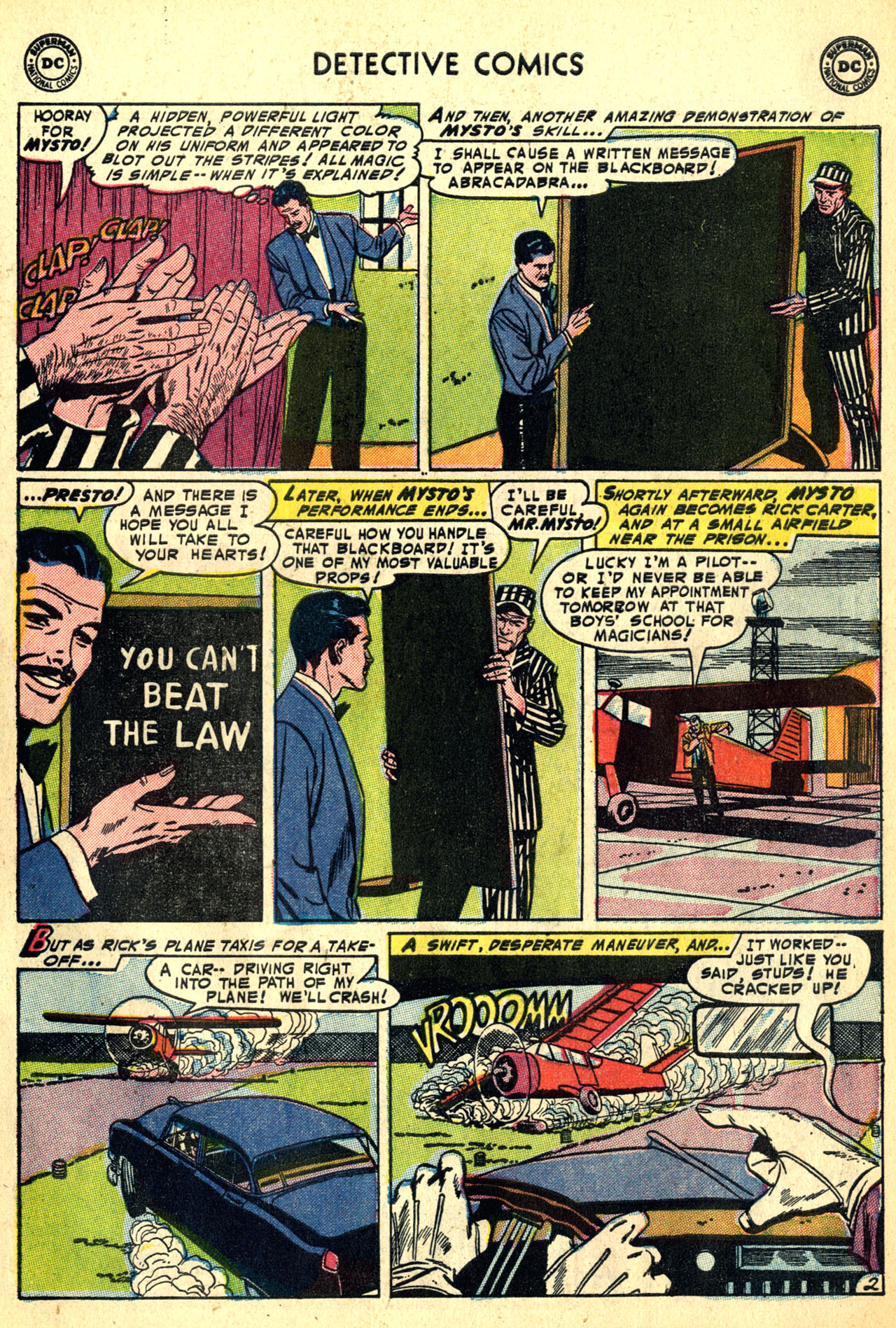 Detective Comics (1937) 208 Page 34