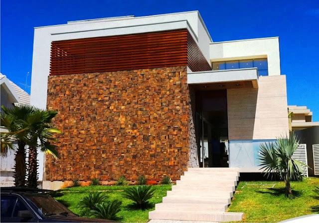 Fachadas-modernas-com-pedra-ferro