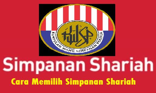vertukar ke Simpanan Shariah KWSP