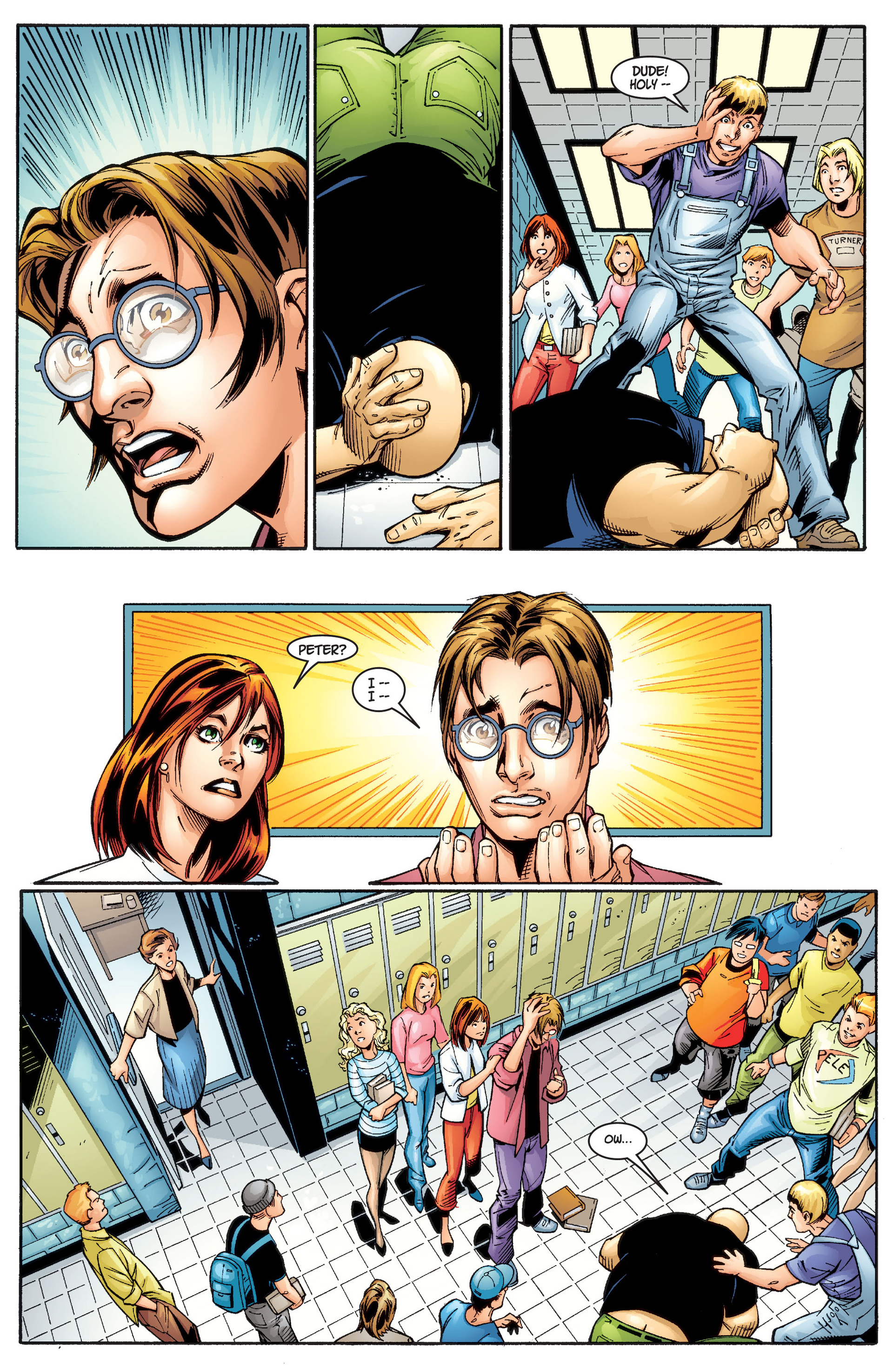 Read online Ultimate Spider-Man (2000) comic -  Issue #1 - 30